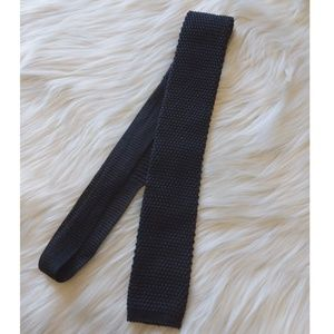 BOSS Hugo Boss square knit tie